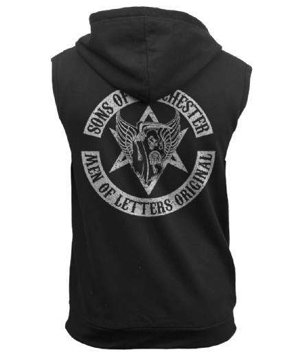 Supernatural Sons of Winchester Sleeveless Zoodie